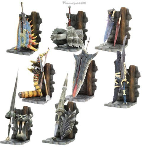 Monster hunter hunting weapons collection vol 1 trading for Decorations monster hunter world