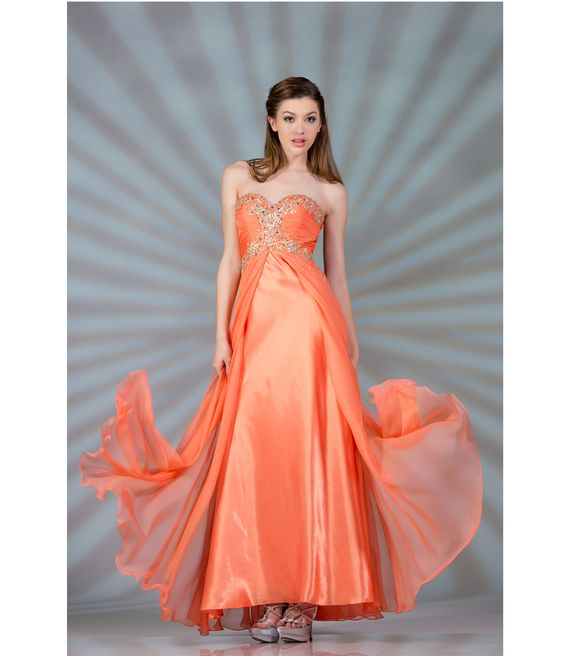 Salmon Colored Prom Dress Salmon Prom Dresses 2013