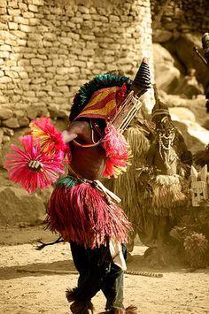 Dogon Walu Mask: