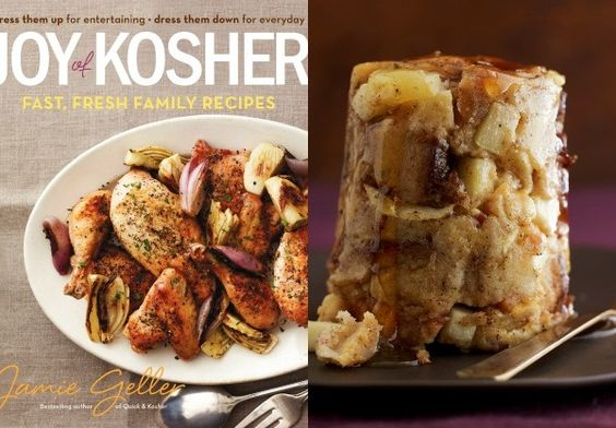 Cooking with Joy on Apple Challah Kugel