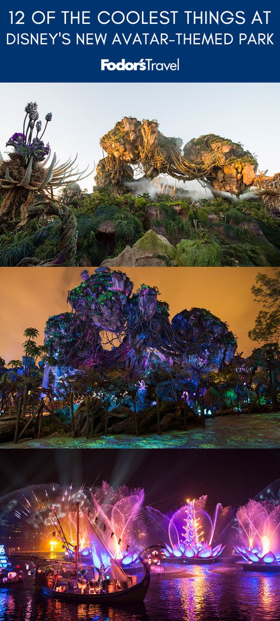 Walt Disney World's newest park, Pandora: The World of Avatar opened to the public on May 27. #Disney #DisneyWorld #travel #themeparks #Avatar