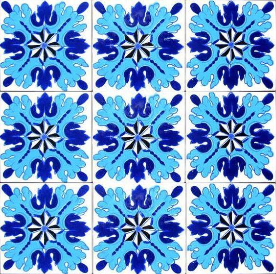 DEKORATIVE KeramikFliesen Akzent Mosaik von tunisiandecor auf Etsy, $27.00