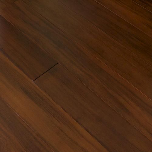 Prefinished tigerwood bamboo solid hardwood flooring 5 8 for Hardwood floors menards
