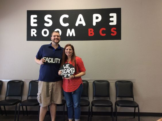 These two escaped Dr. Andrew's lab in exactly 60 minutes!