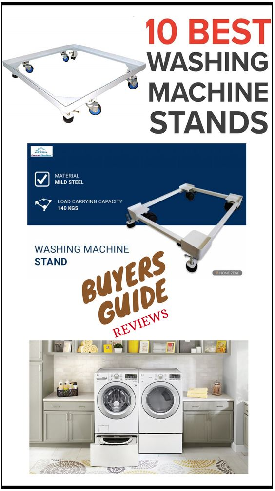 Best Washing Machine Stands In India In 2020 Washing Machine Stand Washing Machine Washing Machine Pedestal
