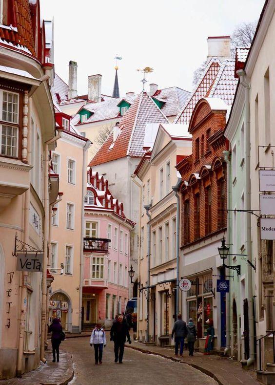 Таллінн, Естонія тури