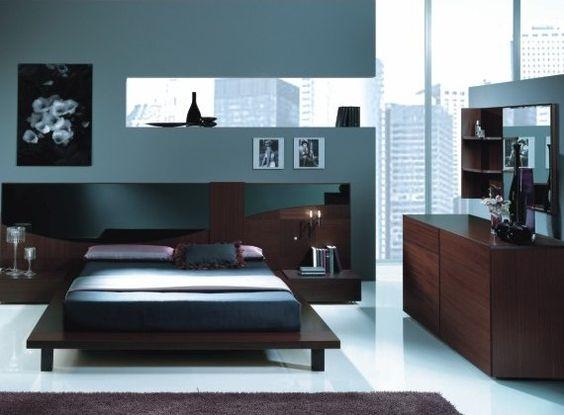 10 ideas de dormitorios matrimoniales modernos for Muebles para dormitorios matrimoniales modernos