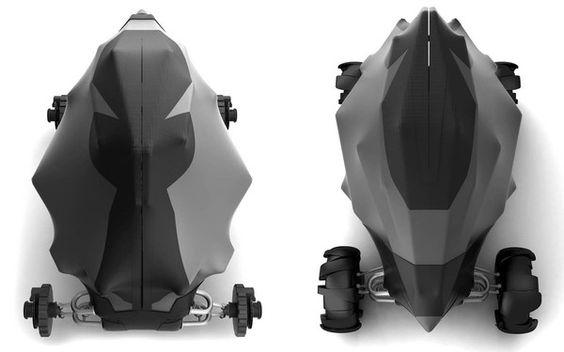 Batmobile by Sebastian Russ