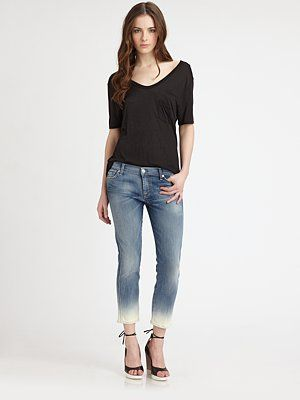 Trending now: ombre jeans! 7 For All Mankind, $138.60