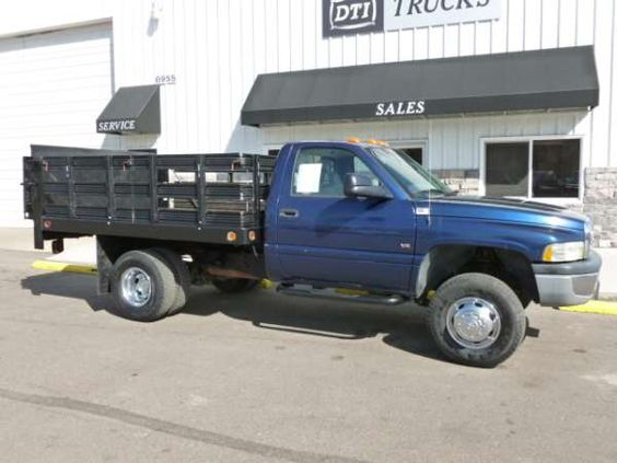 used 2001 dodge flatbed ram 3500 for sale  truck