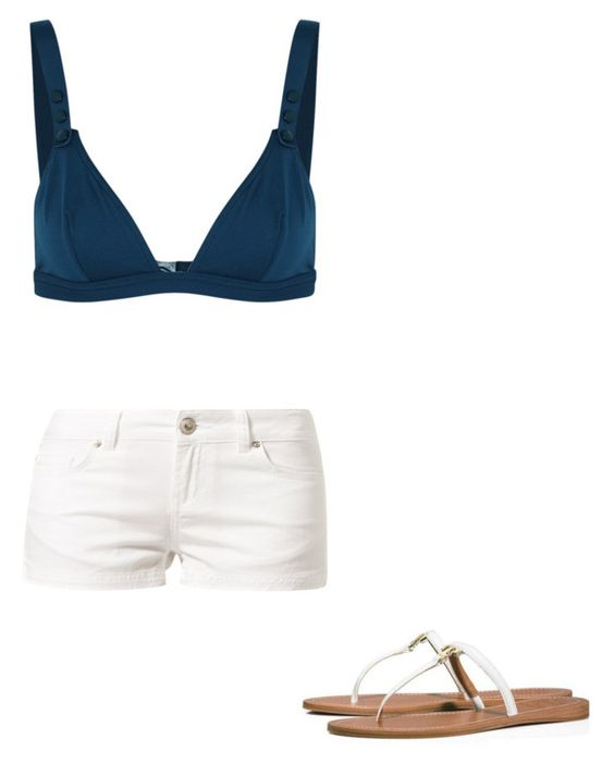 """""""👌🏼"""" by melodyleighmitchell on Polyvore featuring Eres, LTB by Little Big and Tory Burch"""