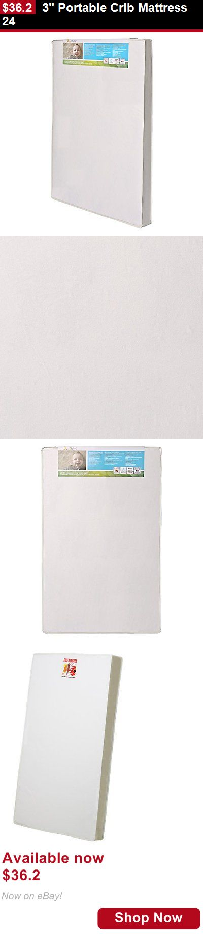Crib Mattresses: 3 Portable Crib Mattress 24 BUY IT NOW ONLY: $36.2