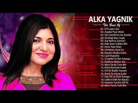 Alka Yagnik Hit Songs Best Of Alka Yagnik Latest Bollywood Hindi Songs Golden Hits Youtube Romantic Songs New Love Songs Song Hindi