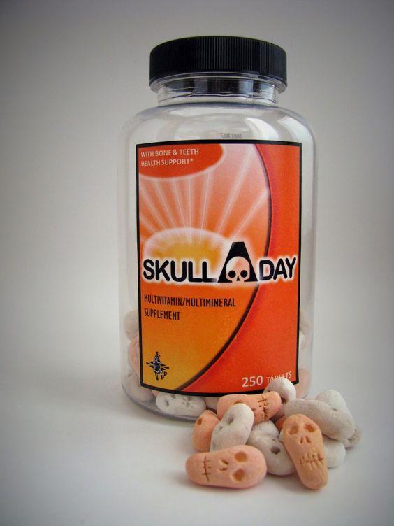 POTIONSMITH: Skull A Day Vitamins