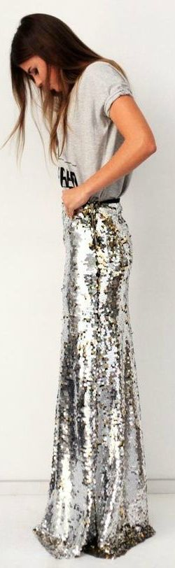 17 Best images about Sequined Maxi | Maxi skirts, Skirts and Chang'e 3