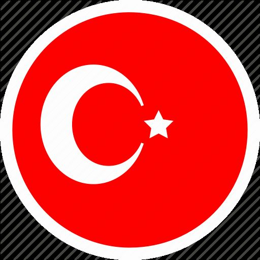 Turkish Flag Coloring Page Lovely Color Country Europe Flag Nation Round Turkey Icon Turkish Flag Flag Coloring Pages Coloring Pages