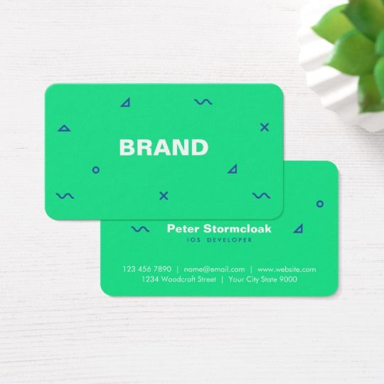 Web App Game Developer Business Card Zazzle Com Game App Video Game Development Simple Business Cards
