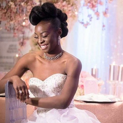 50 Short Wedding Hairstyles For Black Women 2020 Short Wedding