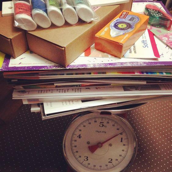 5670 Gramm pure Information von der #creativeworld  Morgen wird gesichtet und berichtet  #paperworld #basteln #kreativ