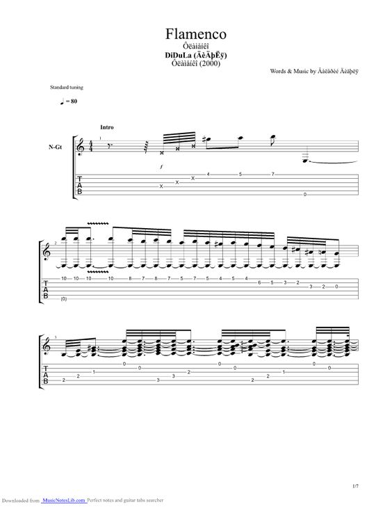 Guitar sungha jung guitar tabs : Guitar and Flamenco on Pinterest