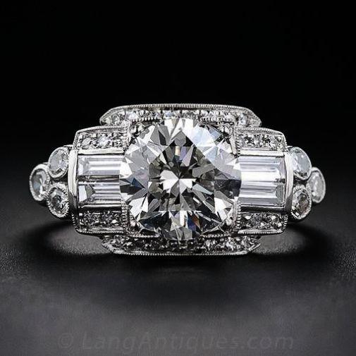 Vintage Engagement Rings Birmingham Jewellery Quarter Enough Jewellery Onli Sapphire Engagement Ring Blue Simple Engagement Rings Engagement Rings Simple Round