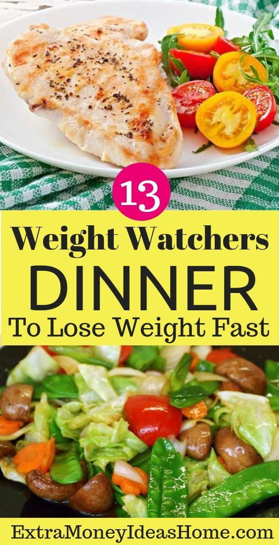 13 Best Weight Watchers Meals. The Best 13 Weight Watchers Meals