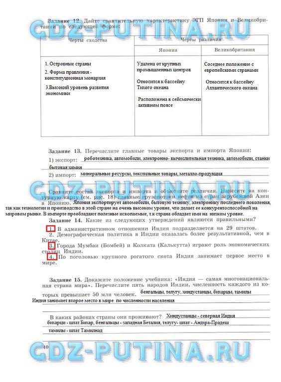 Савченко решебник учебнику