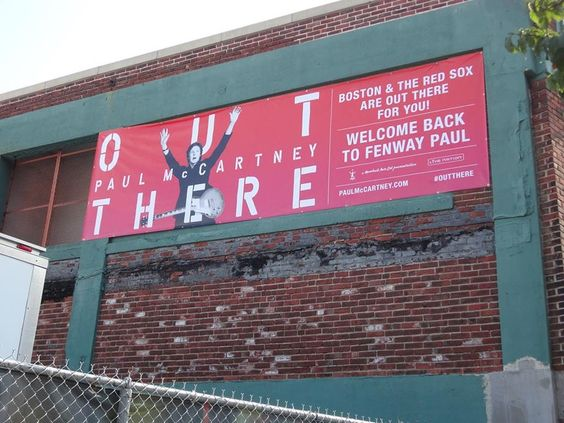 Boston gets ready for Tuesday Fenway Park show by Paul McCartney (Photos)