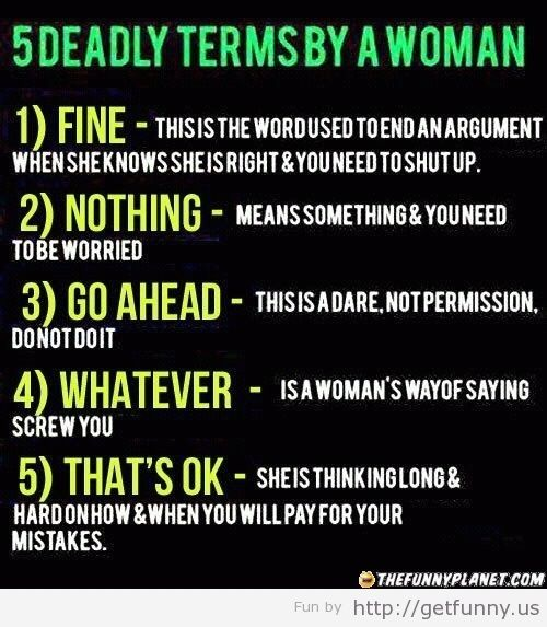 Psycho Women Quotes: Things Got Better In Men's Dictionary