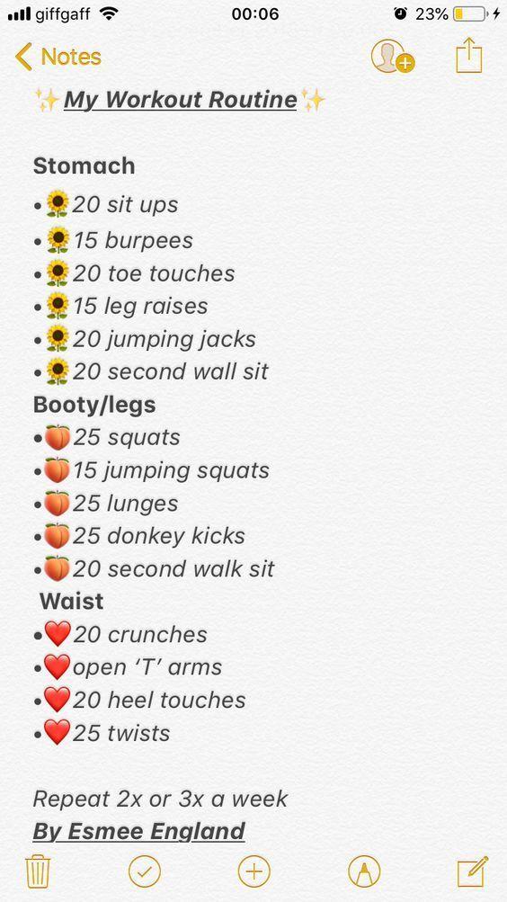 Fitnessübung Routine Gewichtsverlust