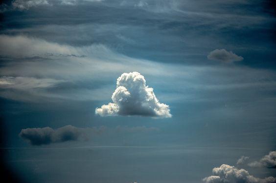 Bleached cloud.