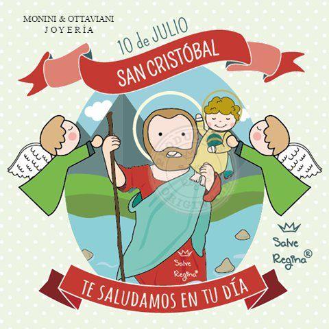 Hoy es san crist bal patrono de los conductores feliz for Ensename todo