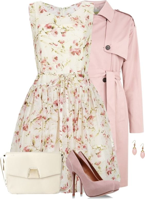 pink spring coat for valentine day bmodish: