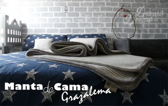 Manta de cama Grazalema