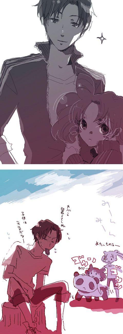 ジャージの二人  by 餡子
