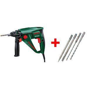 Bosch 060334430C Bohrhammer PBH 2000 RE + 4-teilig ZB-Set, Promo 10