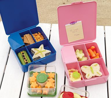 Love these bento box containers! Perfect for school lunches.