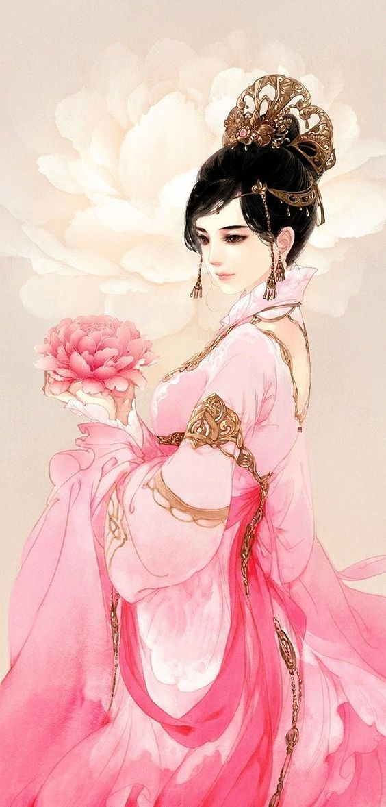 princess-Asian Illustration