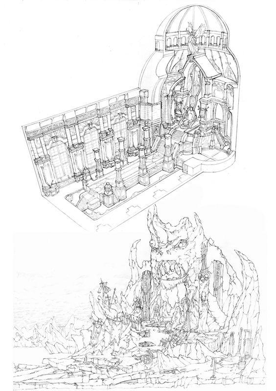 GGSCHOOL, Artist 윤성현, Student Portfolio for game, 2D Scene Concept Art, www.ggschool.co.kr