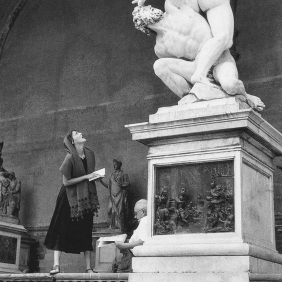 Ruth ORKIN Rare Ancien Epreuve Originale de PHOTOGRAVURE - Jinx Allen Italy 1951