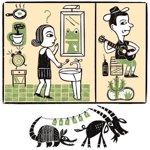 Mario Bag / Ilustrações