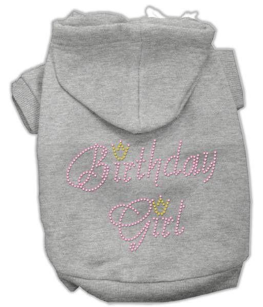 Birthday Girl Hoodies Grey XXXL(20)