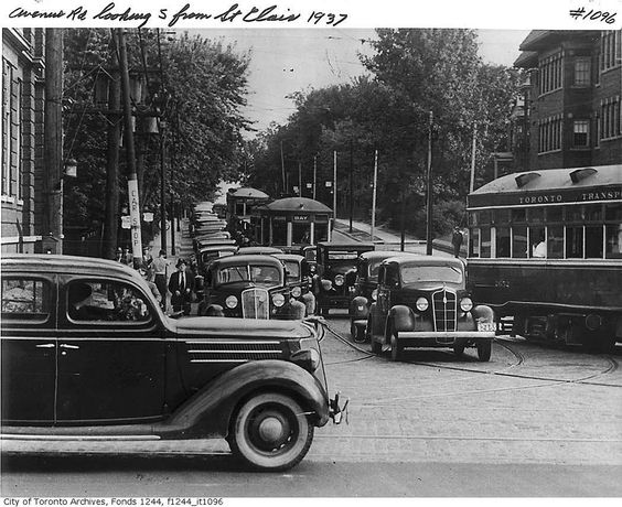 Avenue Road, looking south from St. Clair Avenue West | by Toronto History