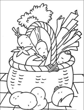 Lebensmittel Ausmalbilder Ausmalbilder Ausmalen Zeichenvorlagen