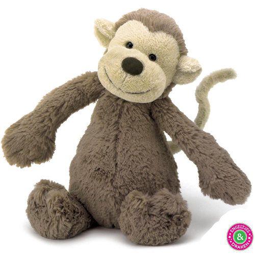 Engeltjes & Draken ♥ Jellycat ♥      Heb je liever een apenknuffel? Dan is deze knuffel van Jellycat misschien iets voor jou!
