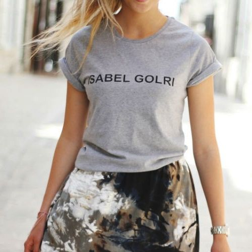 Le T-shirt Isabel Golri   DailyELLE