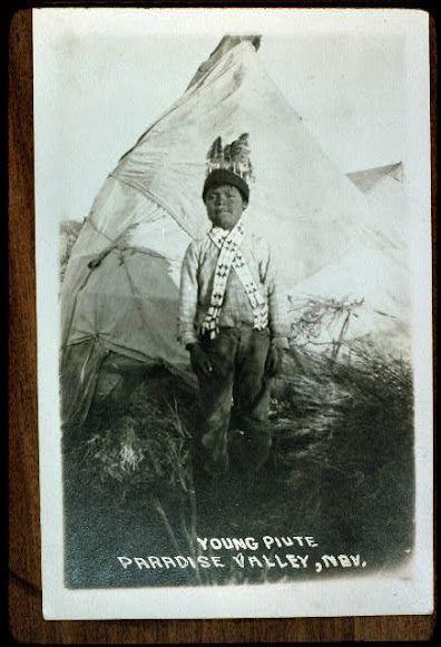 Paiute boy - no date