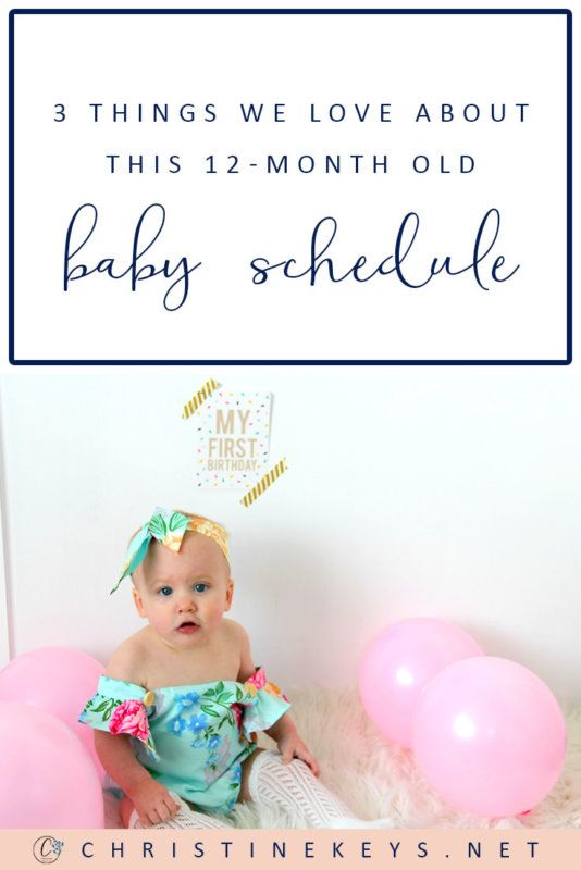 3 Things We Love About This 12 Month Old Baby Schedule With Images Baby Schedule Baby Wise Baby Month By Month