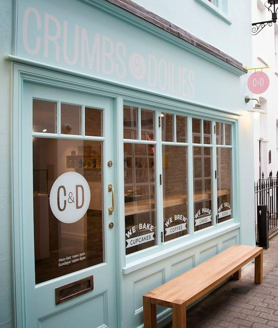 Crumbs and Doilies, London. EAT THE LEMON MERINGUE MASH