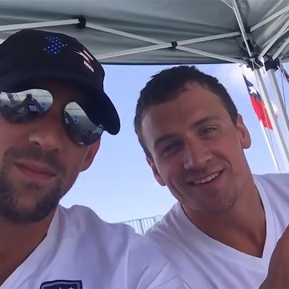Ryan ♡♥ Lochte and Michael ♡♥ Phelps